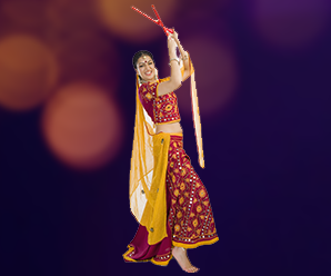 Dandiya Night adds excitement in Signature Global City, Karnal