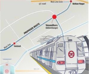 Vaishali-Mohan Nagar Metro Extension Nod a booster for realty